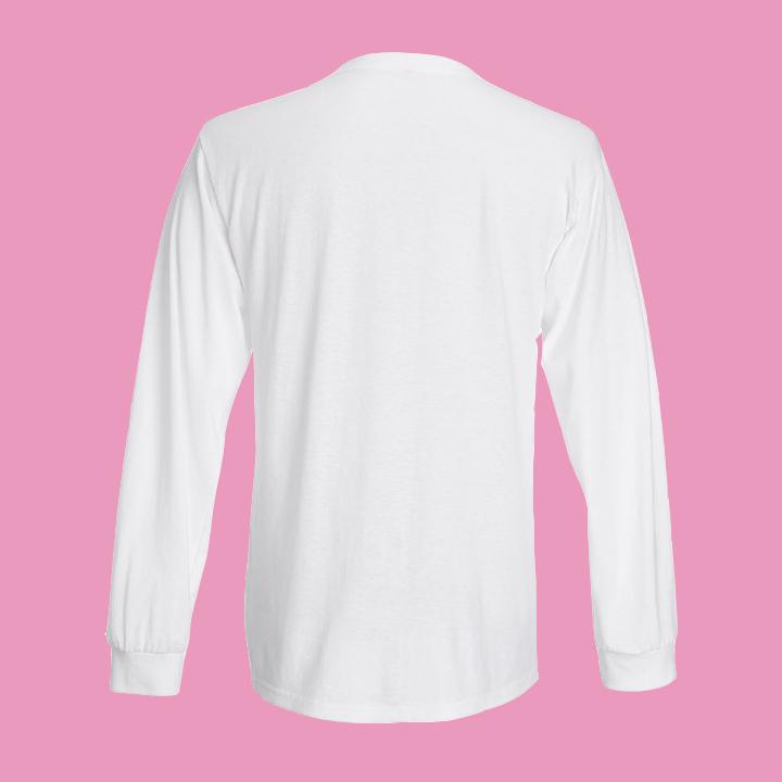 Män i Grupp Long Sleeve Shirt, white