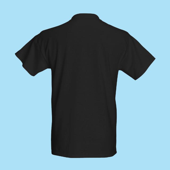 Män i Grupp Black T-shirt (loose fit)
