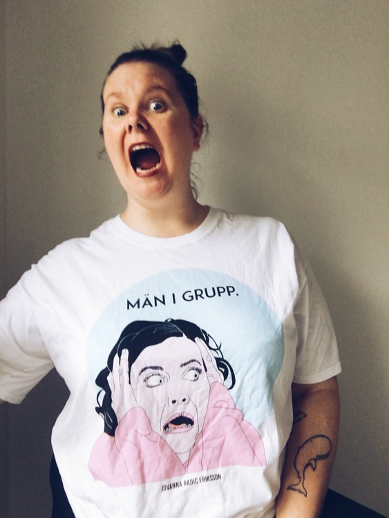 Män i Grupp T-shirt (loose fit)