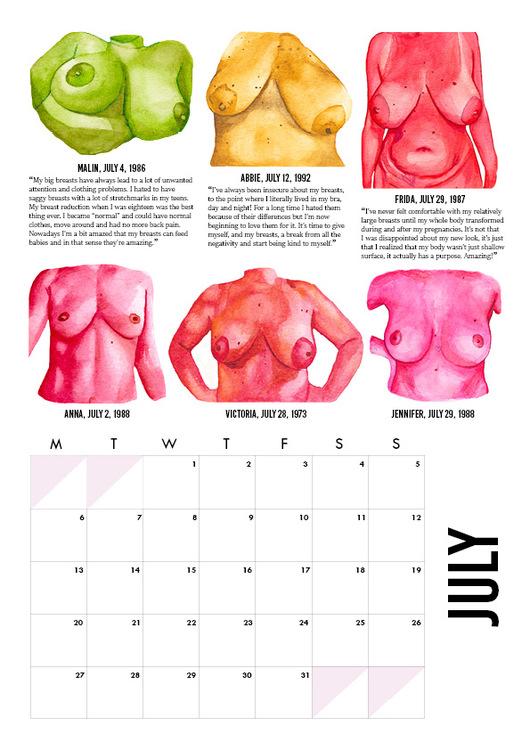 Breast Calendar 2020