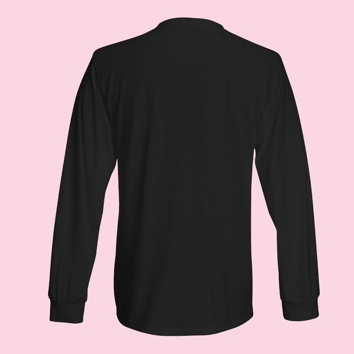 Män i Grupp Long Sleeve Shirt, black