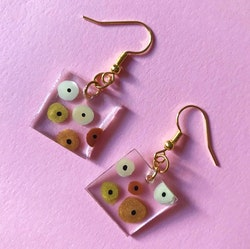 Titty Square Earring, Small