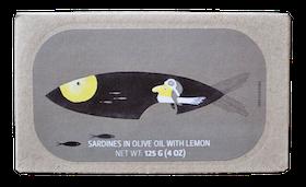 Sardiner i Olivolja med Citron
