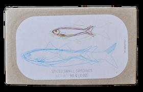 Små Sardiner i Piri-piri