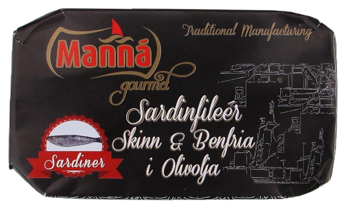Sardinfiléer Skinn & Benfria i Olivolja x 2