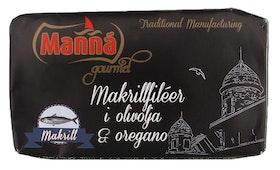Makrillfiléer i Olivolja & Oregano x 2
