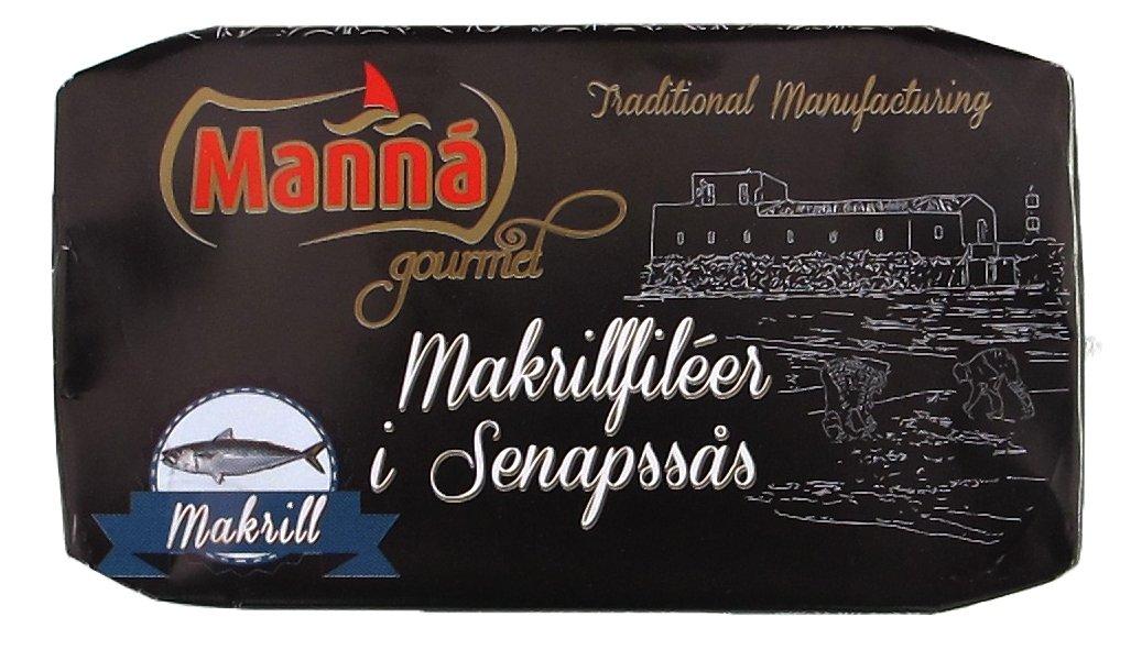Makrillfiléer i Senapssås