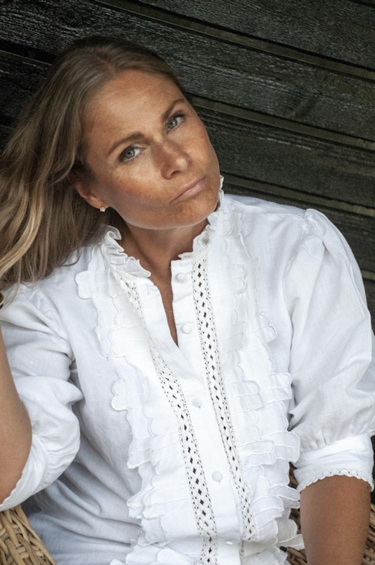 Linen blouse long