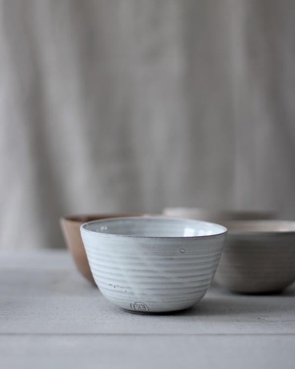 Jord keramikskålar