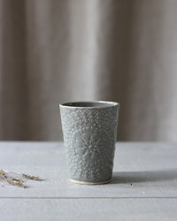 ETHNIC CERAMIC MUG GRAY