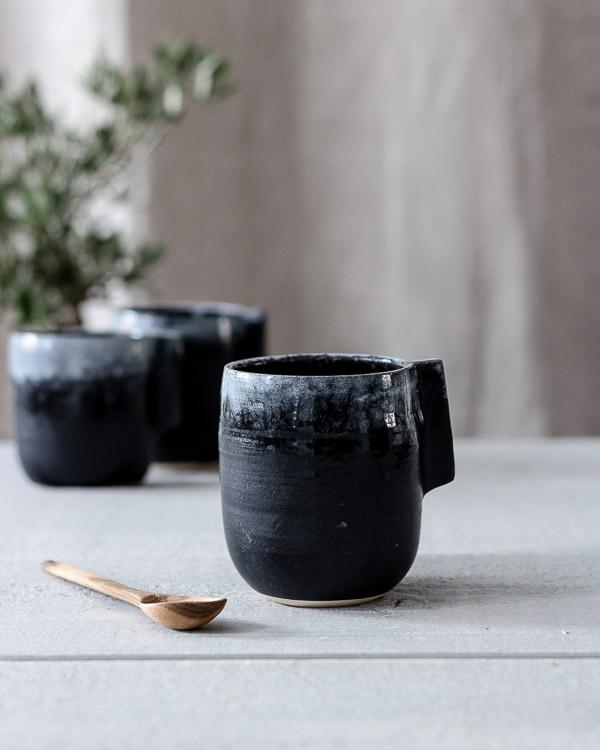 keramikmugg skymning