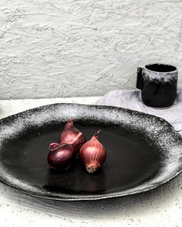 Stort keramikfat Skymning