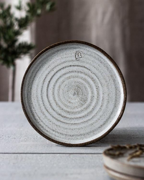 Keramiktallrik Rå assiette