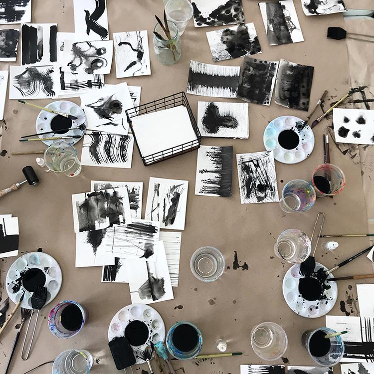"""""""VÅGA SKAPA"""" en helg med tusch och lera i Växthuset 7-8.3.2020"""