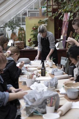 """""""VÅGA SKAPA"""" keramikworkshop 8.3.2020"""