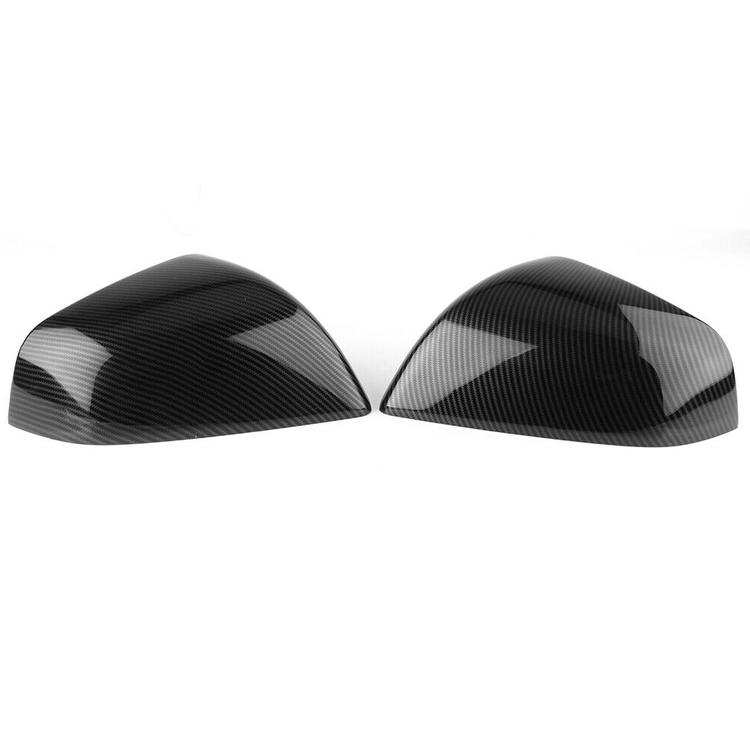 Model S sidospeglar i ABS med kolfiber utseende