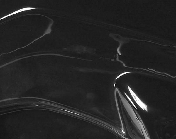 Model S bakre sido-splitter mattsvart