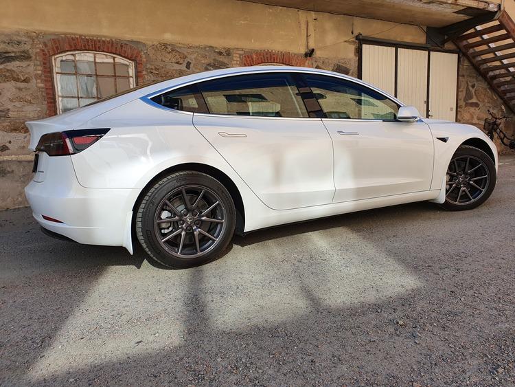 Model 3 Stänkskydd - Vita reservdelar
