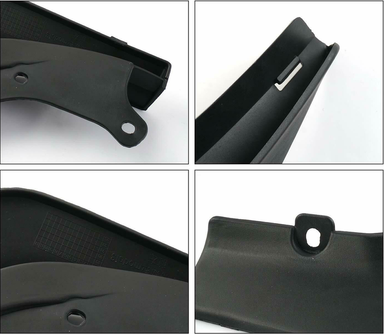 Model 3 Stänkskydd - Mattsvart reservdelar