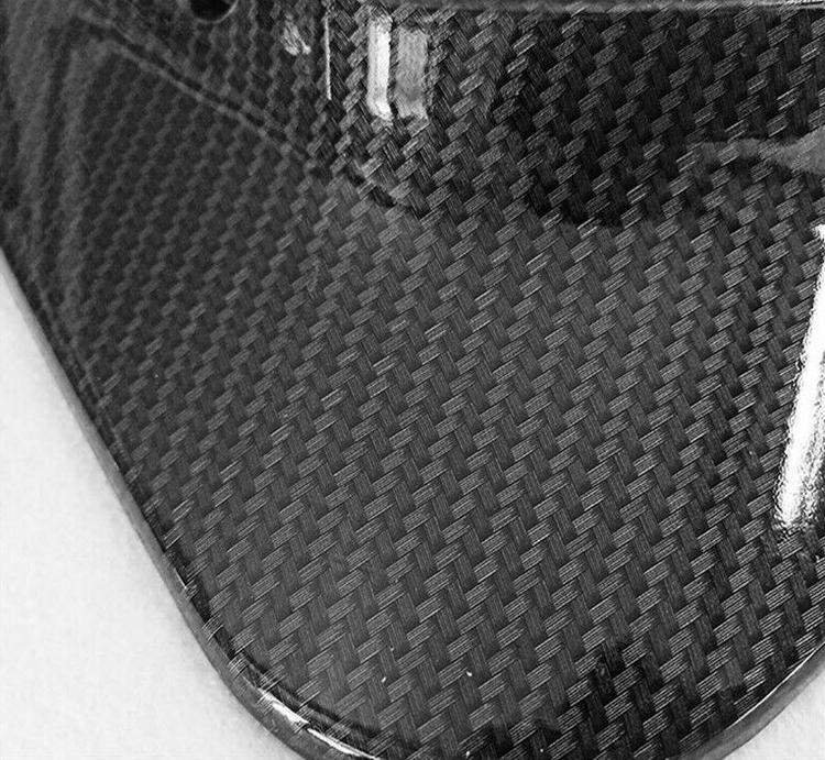 Model 3 Stänkskydd - kolfiber utseende reservdelar