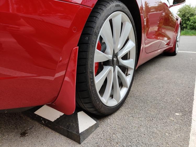 Model 3 Stänkskydd - Röda reservdelar