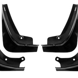 Model 3 Stänkskydd - Blanksvarta reservdelar