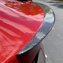 Model 3 Spoiler i kolfiber blank -- FYNDHÖRNAN