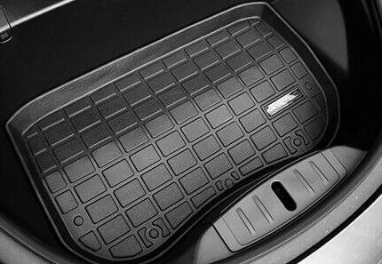 Model 3 bagagerumsmatta + frunkmatta + nedre trunk matta TPE