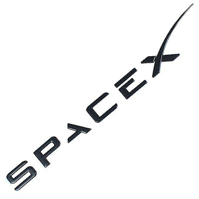 SpaceX Dekaler för bagageluckan -- FYNDHÖRNAN