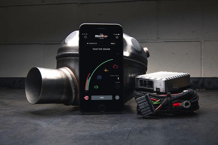 Milltek Model X Single sound generator