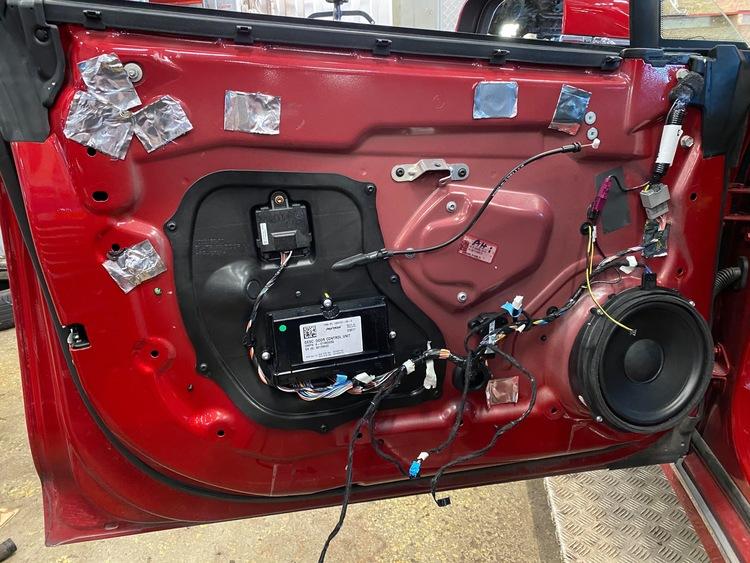 Model S dörrhandtag padel gear