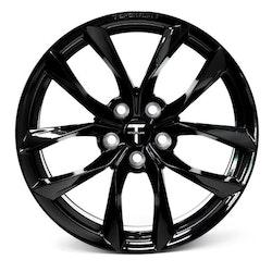"T-sportline Model 3 19"" TSS Arachnid style glossy black"