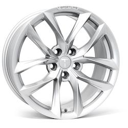 """T-sportline Model 3 18"""" TSS Arachnid style silver"""