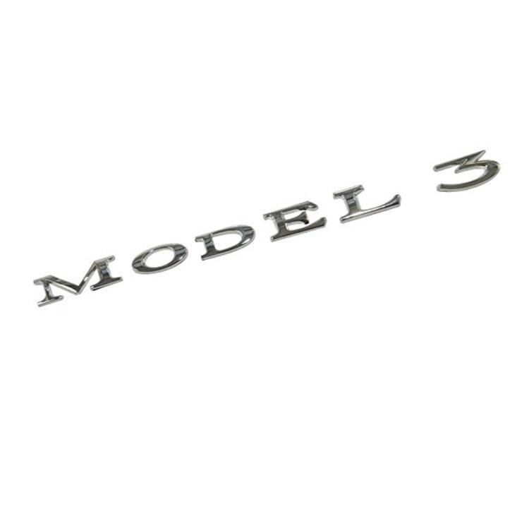 Model 3 emblem
