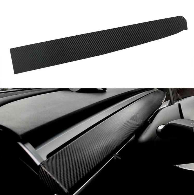 Model 3 & Y dashboard wrap, flera färger