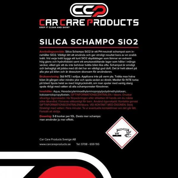 Car Care Products - Silica Schampo 3.0