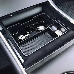 Model 3 center console förvaringslåda gummi