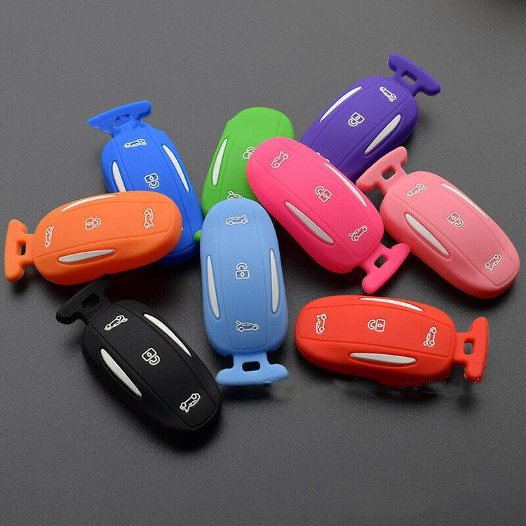 Model X keyfob skydd i många färger
