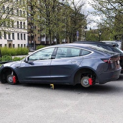 Montering Rimgard fälglås Tesla (ej Rimgard endast montering)