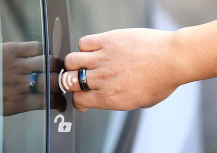 Model 3 & Y smart ring - nyckel till bilen -- FYNDHÖRNAN