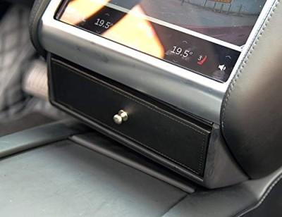 Mittenlåda, läder, till Tesla Model S/X