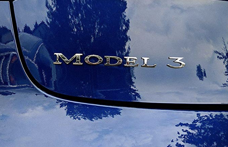 Model 3 emblems
