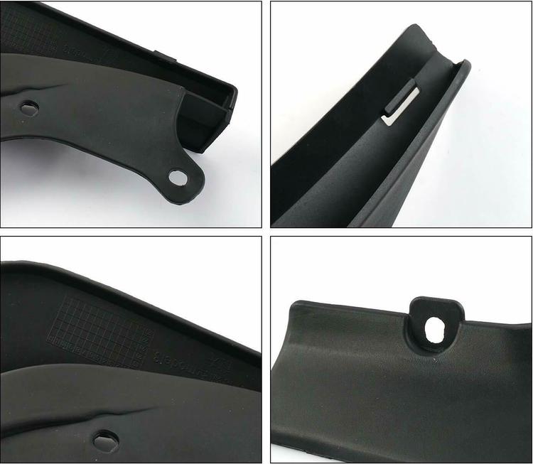 Model 3 Stänkskydd - Mattsvart ink skyddsfilm