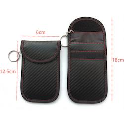 Keyfob RFID skydd i carbon fiber utseende