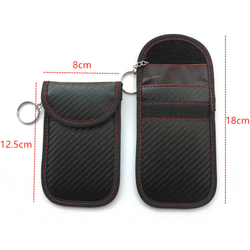 Keyfob RFID skydd i kolfiber fiber utseende