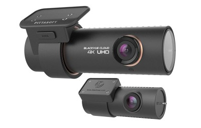 BlackVue bilkamera DR900S-2CH, 4K/Full HD, Wi-Fi, fram- och bakkamera, 16 GB - Svart