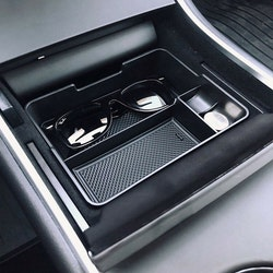 Model 3 center console förvaringslåda gummi