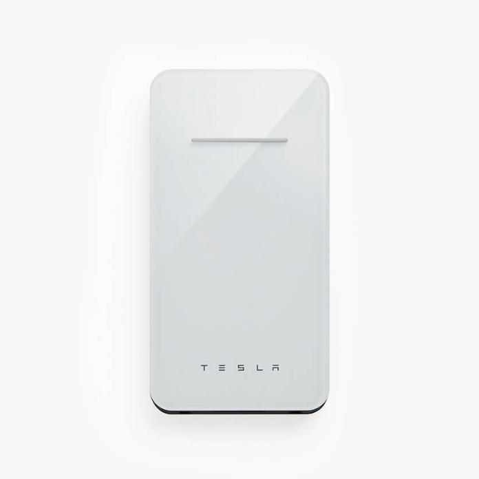 Tesla Wireless Phone Charger - White