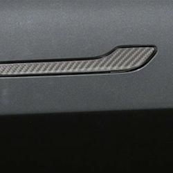Model 3 Dörrhantag med kolfiber utseende