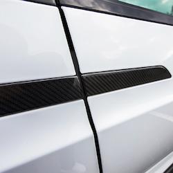 Model X Dörrhantag i ABS med kolfiber utseende